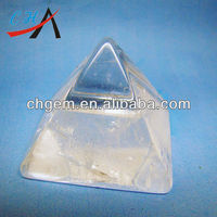 2 inches Hight Quality Crystal Pyramid Energy for Vastu