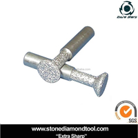 Marble Granite Vacuum Brazed Anchor Core Bit