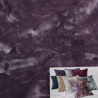 Hot sale velour/velvet fabric for cushion with hign quality