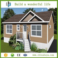Luxury modern building plans movable small prefab villa made in China