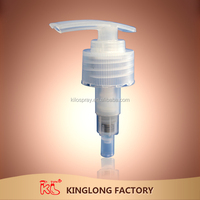 fuzhou24/410 24/400 plastic lotion pump with electroplate silver color, UV color plastic lotion pump, plastic cream pump sprayer