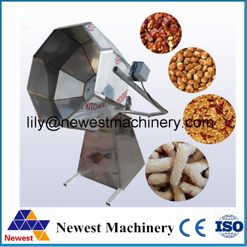 0.75KW energy saving flavour popcorn machine potato chips making flavoring machine