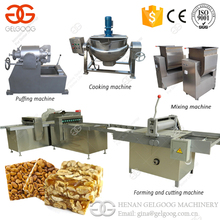 Professional Bar Production Line Nut Snack Muesli Bar Making Machine Energy Granola Cereal Protein Bar Machine