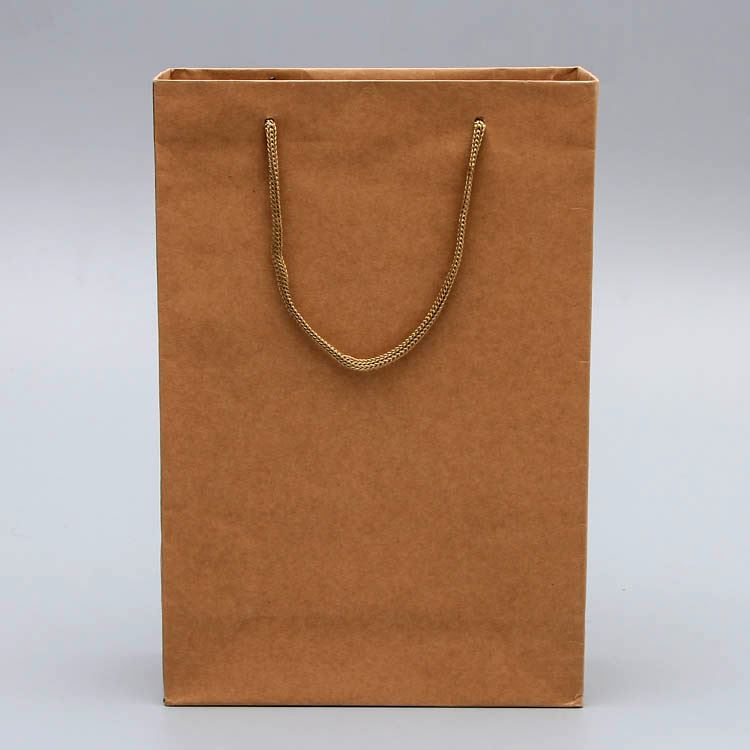New arrival different patterns recycled brown paper bags