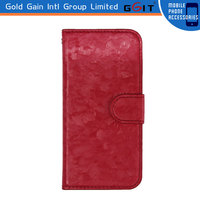 New!!! Wallet Card Holder PU Leather Flip Case Cover for iPhone 4&4S, and for iPhone 5&5S