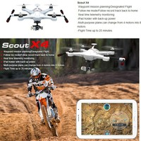 Walkera Scout X4 Drone GPS Gimbal RC Quadcopter Devo F12E G-3D drone gps with camera radio control toy
