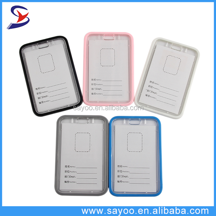 Best price new product clear acrylic card holder