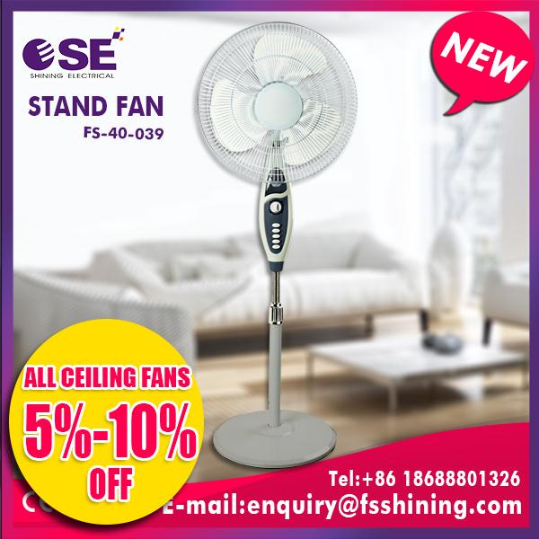 Multifunctional khaitan pedestal fan for wholesales