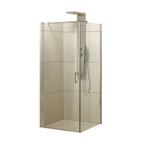 Italian free standing corner glass shower enclosure