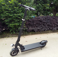 8 inch 350w36v cheap electric folding scooter/chopper beach cruiser ebike/adults e motorcycle