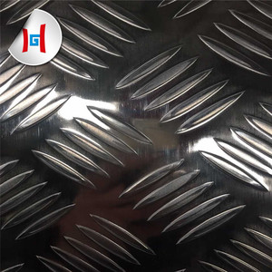 5 bars aluminum diamond checkered plate sheets