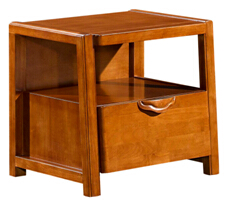 Modern solid wood bedroom furniture bedside table design 8151
