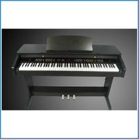 LED back light vertical digital piano , intelligent upright electric keyboard , digital keyboard touch response