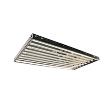 T5 432W 4' 8-Tube Grow Light Fixture w/ Fluorescent Lamps