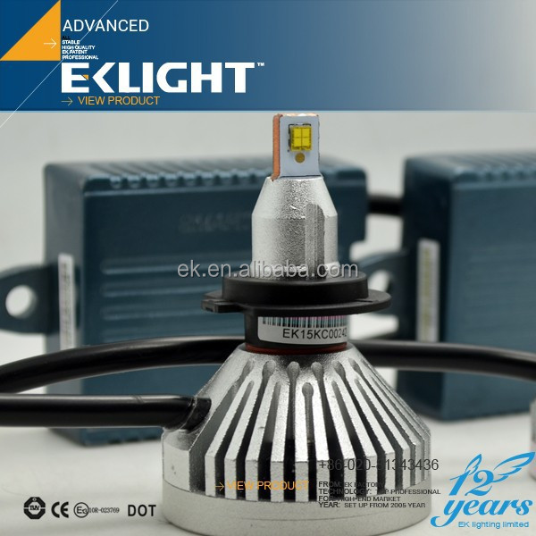 EK LIGHT Smart System New Arrival Car Led Headlight , Auto LED Headlight 6v-30v led headlight for snowmobile