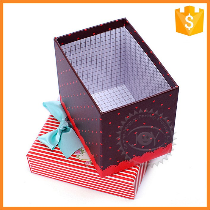 Wholesale custom decorative christmas gift paper boxes