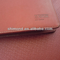 PU leather decorating book cover