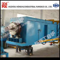 Factory price 320KW Lithium battery cathode material rotary furnace with heating system