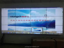 3x3 splicing screen 9x video wall 55 inch 1000 nit high brightness indoor diy digital signage with video mosaic screen player