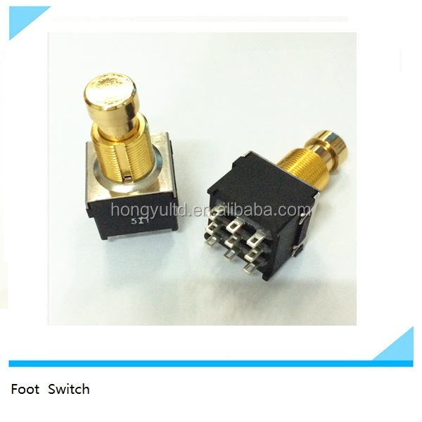 3PDT stomp foot pedal switch