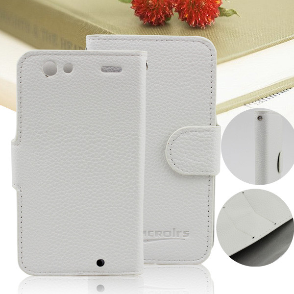 Leather Flip cover case for motorola droid razr xt910 xt912