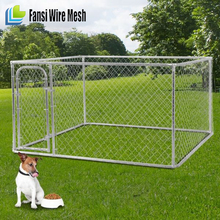 Alibaba China - Hot sale cheap triple dog kennel with feed store and solid bar run