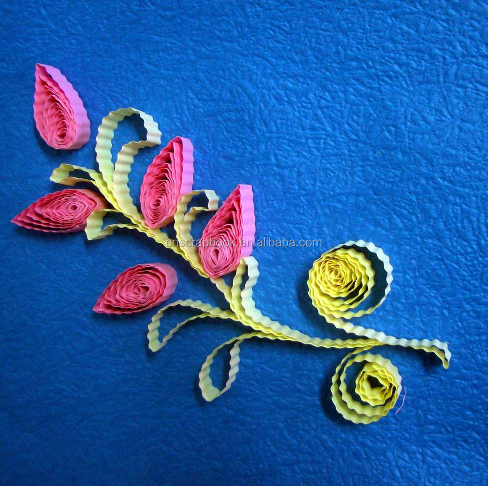 Wholesale paper quilling strips paper quilling tools buy for Quilling strips designs