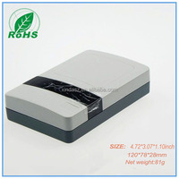 Electronics outlet enclosure 120*78*28mm plastic housing for PCB electronical junction box