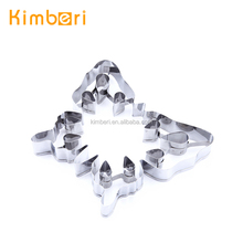LFGB/FDA Stainless Steel Butterfly Shape/Insect Shape Animal Shaped Cookie Cutter