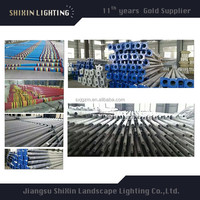 5m street light pole making machine