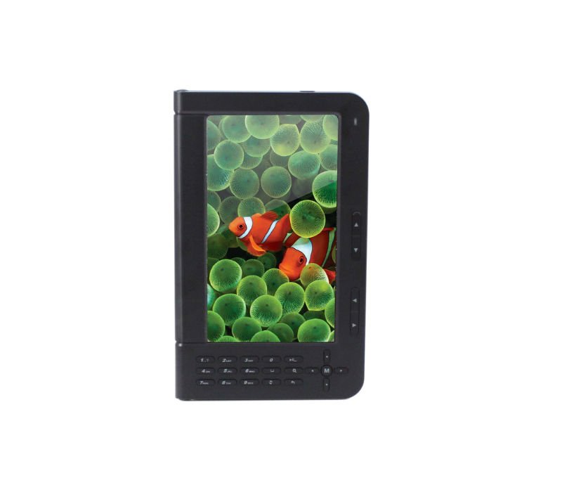 7 inch E-BOOK with color display