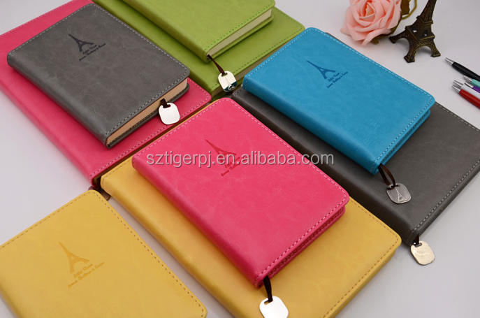 hot-selling high quality leather notebook for promotion