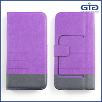 [GGIT] Flip Leather PU+Silicone Universal Phone Case