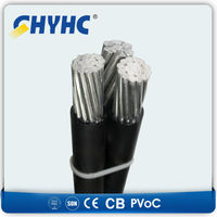 ABC Cables Self-supporting Low Votage iec 60502 6kv 10kv 11kv abc cable