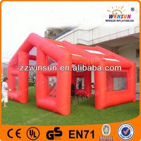 Factory price CE durable inflatable construction tent manufacturer