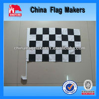 Custom Chequer Race Car Flag For F1 British Grand Prix