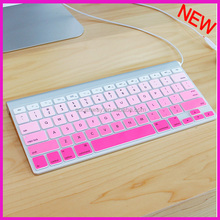 tablet keyboard cover rubber keyboard cover for MAC
