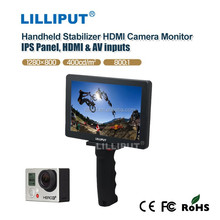 New Arrival 1080p Handheld Stabilizer 7 inch HDMI Camera Monitor with HDMI used for Go-pro camera MoPro7