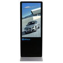 43 Inch Free Standing LCD Display Advertising Digital Signage Totem