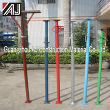Construction Heavy Duty Telescopic Steel Shoring Prop/Prop Support For Concrete Slab