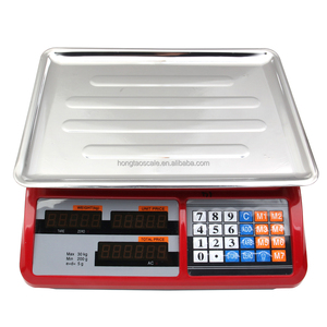 30/40Kg Digital LED/LCD Display electronic fruit vegetable weighing scales
