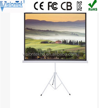 Motorized projector screen with high quality projector screen tripod stand 100inch 200inch 300inch