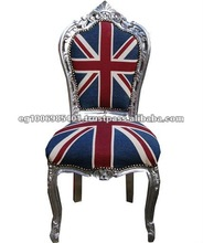 Union jack Chair french antique dining chair french louis xv and baroque furniture reproductions