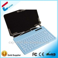 China manufacture 11.6 inch tablet pc leather keyboard case