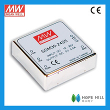 Meanwell SDM30-24S5 30W DC to DC converter in capacitance 1000pF