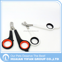 Wholesale short tail pet dog trimming nail cutting scissors clippers