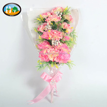 New design highly realistic artificial carnation flower with foam berries