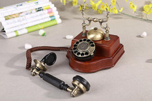 ANTIQUE STYLE TELEPHONE 1898TN THE MODEL ENTERNA ROTARY OLD FASIHON TELEPHONE