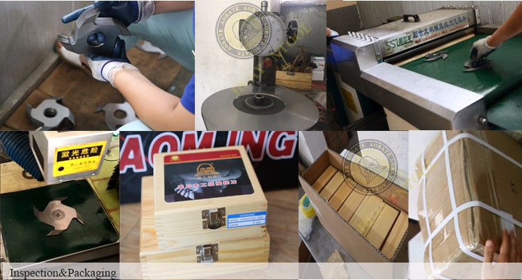160mm diameter 2 wings wood finger joint cutter