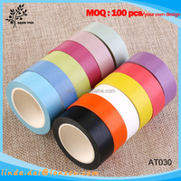 Decorative Washi Rainbow Sticky Paper Masking Adhesive Tape for Scrapbooking DIY